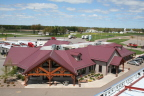 Innovative rooftop finished with Dura Coat Durapon 70 coatings. (Photo: Axalta)