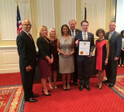 The Maryland Governor's Commission on Service and Volunteerism presented BGE with a citation for vol ...