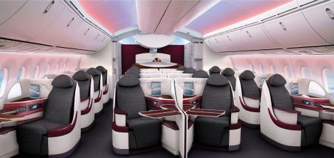 B/E Aerospace - Super Diamond Business Class Seat (Photo: Business Wire)