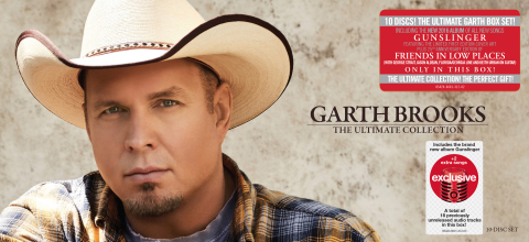 "Target-Exclusive 10-Disc Boxed Set ""Garth Brooks: The Ultimate Collection"" to Feature 18 Previously  ..."