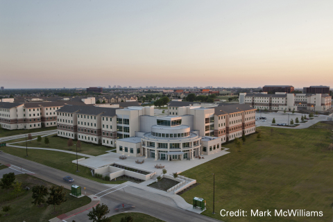 UT Dallas Student Housing Living/Learning Center Phase 1 & 2, University of Texas at Dallas, Richardson, TX, USA. (Photo: Business Wire)