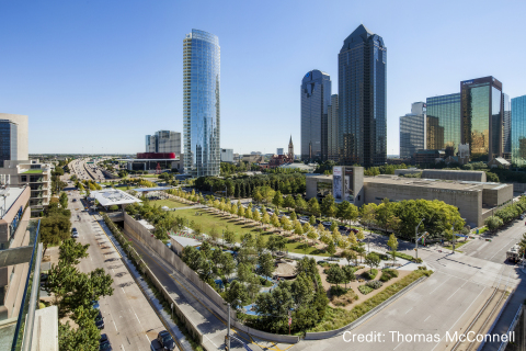 Klyde Warren Deck, Woodall Rodgers Park Foundation, Dallas, TX, USA. (Photo: Business Wire)