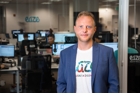 Keith McCarty, CEO and Founder of Eaze (Photo: Business Wire)
