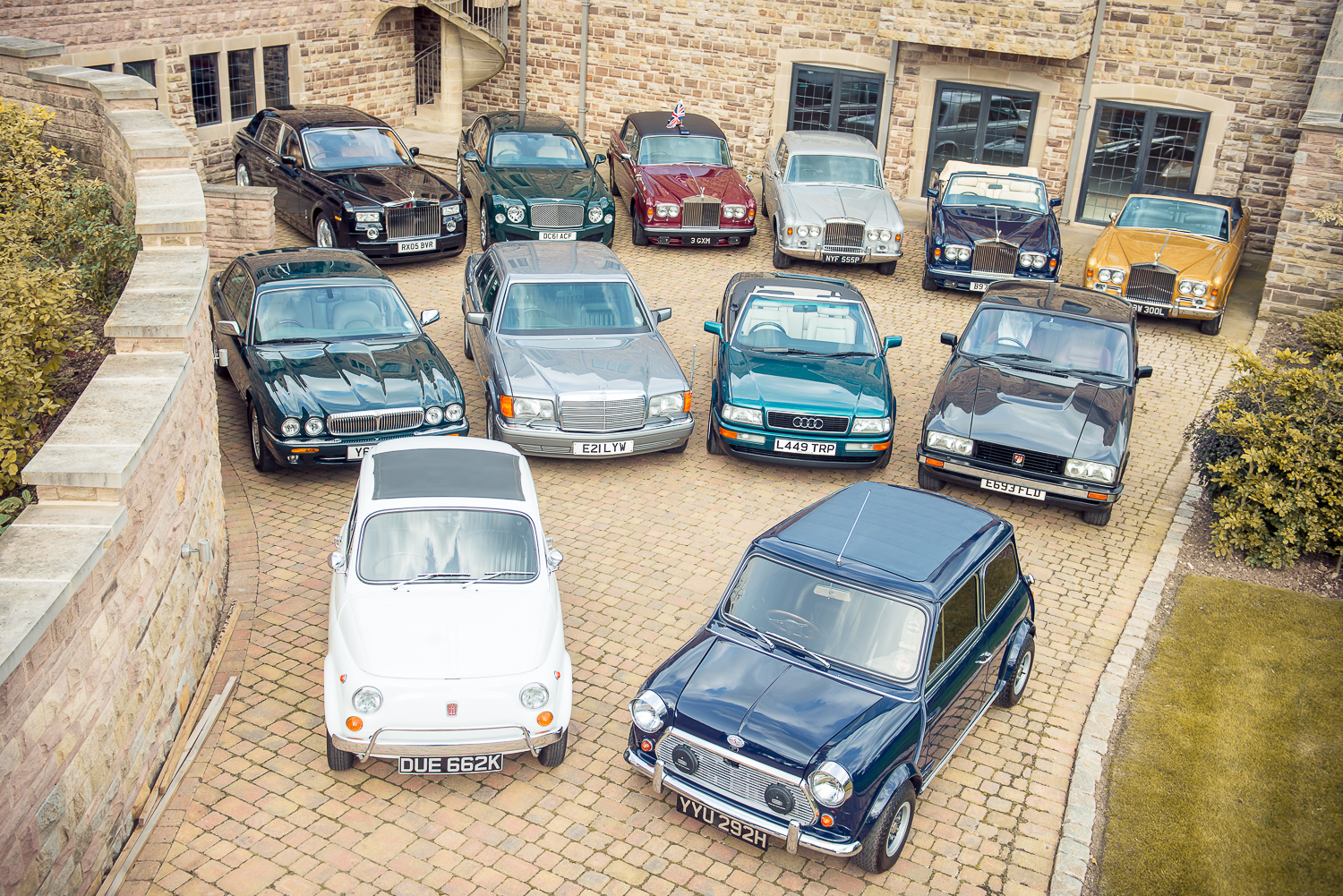 Drive Like Royalty: The Queen\'s Cars up for Sale in Silverstone\'s ...