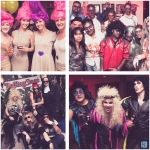 Celebrating Halloween at work leads to higher employee engagement, according to award-winning culture leader Klick. The company's new poll found two-thirds of employees dress up for the hallowed holiday; and 60% make their costumes themselves. Past Klick costumes have ranged from Miley Cyrus on her wrecking ball to the cast of Michael Jackson's Thriller video and Twisted Sister rock band (shown). (Photo: Business Wire)
