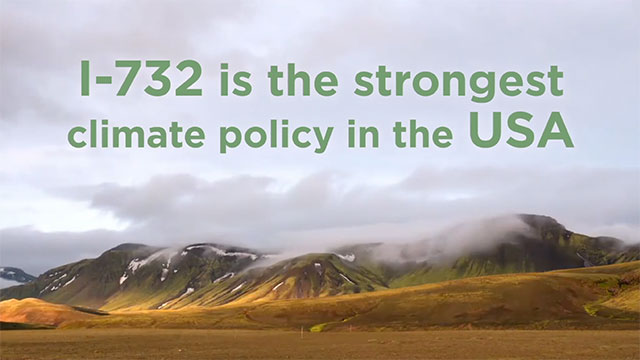 "On November 8, Washington will vote on the nation's first revenue-neutral carbon tax. Initiative 732 (https://yeson732.org/) accelerates the shift to clean energy by putting a price on dirty fossil fuels. The policy has bipartisan support and is endorsed by over 50 University of Washington climate scientists, Audubon Washington, Citizens' Climate Lobby, and numerous other groups and individuals who believe we must take action now on climate change. The New York Times said, ""the idea of putting a price on carbon is…one of the most straightforward, economy-friendly ways to deal with climate change."""