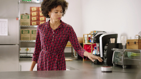"The Staples Easy System brings the ""on-demand"" world to businesses, allowing customers to order anytime, anywhere, from any device they prefer. (Photo: Business Wire)"