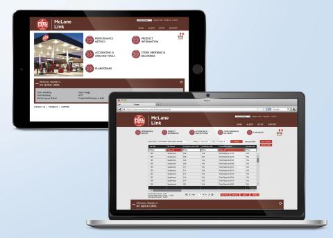 McLane Link Customer Portal (Photo: Business Wire)