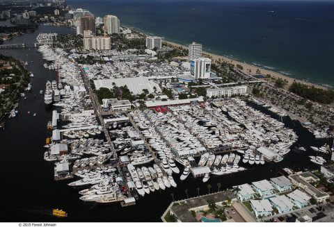 Superyachts and extreme toys attract wealthy buyers and browsers the weekend before Election Day at the Fort Lauderdale International Boat Show, the world's largest in-water show, from Nov. 3-7. Credit Forest Johnson. (Photo: Business Wire)