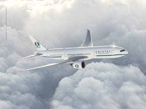 Crystal AirCruises Opens for Booking November 1st, 2016 (Photo: Business Wire)