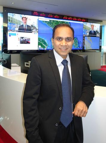 International SOS Group CIO Ramesh Munamarty (Photo: Business Wire)