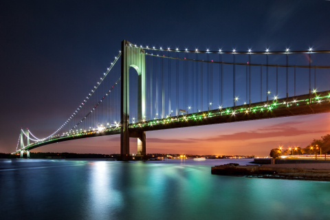 TransCore will update the Verrazano-Narrows Bridge to All-Electronic Tolling. (Photo: Business Wire)