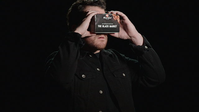 The Black Label Black Market Virtual Reality Experience (Video: HORMEL BLACK LABEL bacon).