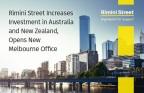 Rimini Street aumenta il proprio investimento in Australia e Nuova Zelanda e apre una nuova sede a Melbourne