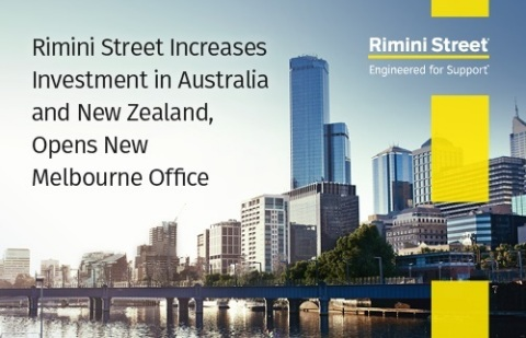 Rimini Street increases investment in Australia and New Zealand, opens new Melbourne office (Photo:  ...