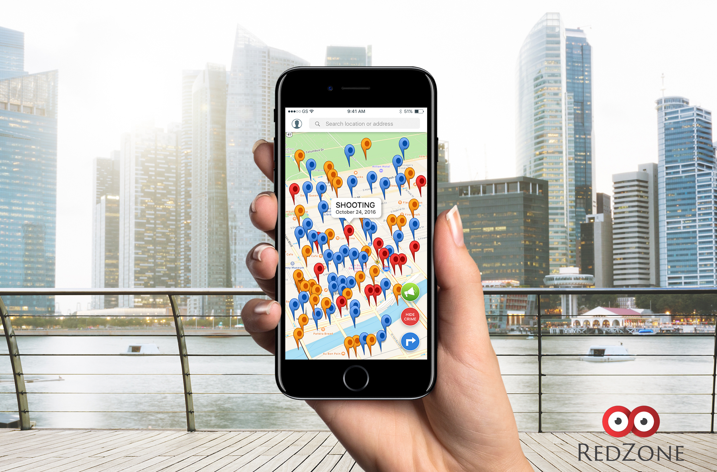 RedZone Maps Crime and Navigation App Breaks Through Top 5 in ...