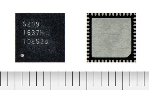 """Toshiba:""""TB67S209FTG"""", a stepping motor driver with an architecture that lowers noise and vibration during motor operation. (Photo: Business Wire)"""