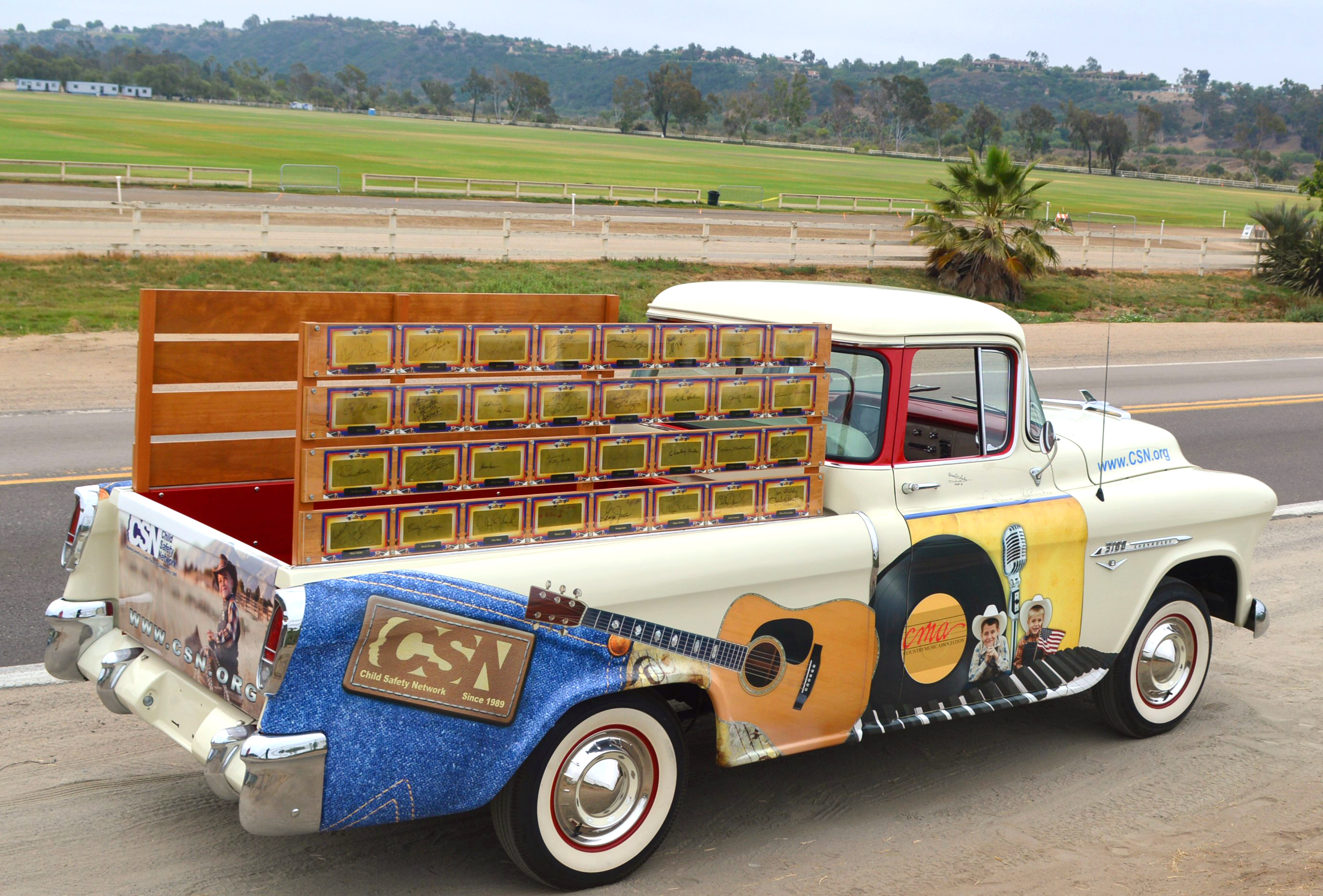 Country Music Truck Arrives at Mecum Auction in Dallas | Business Wire