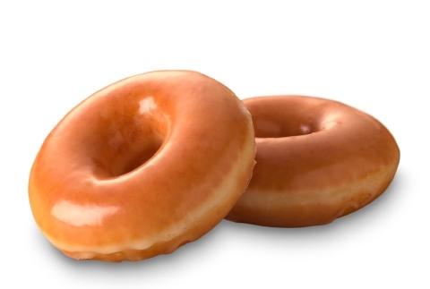 Any guest wearing a sticker indicating they voted on Nov. 8 will receive a free doughnut of choice at participating Krispy Kreme shops (Photo: Business Wire).