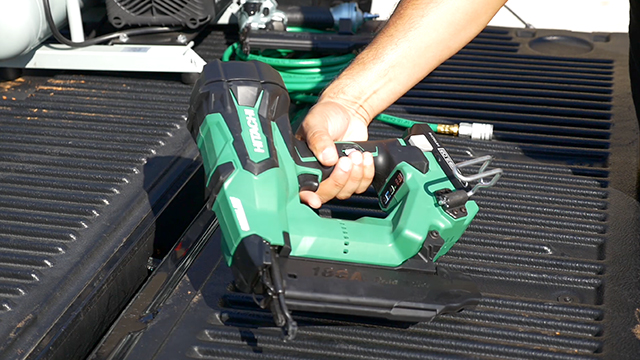 View to learn all about Hitachi's New Cordless Finish Nailer series- now available!