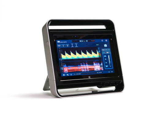 The Lucid™ M1 Transcranial Doppler Ultrasound System (Photo: Business Wire)