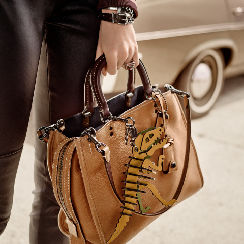 Rogue in glovetanned leather with Rexy bag charm (Photo: Business Wire)