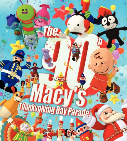 A Historic Procession: The world-famous Macy's Thanksgiving Day Parade celebrates 90 years as the of ...