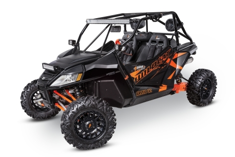 Arctic Cat Wildcat™ X equipped with 2017 SPEED™ High Performance Accessories (Photo: Business Wire)