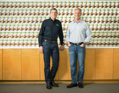 Herbalife Nutrition's chief operating officer, Richard P. Goudis (Right in picture) will become CEO  ...