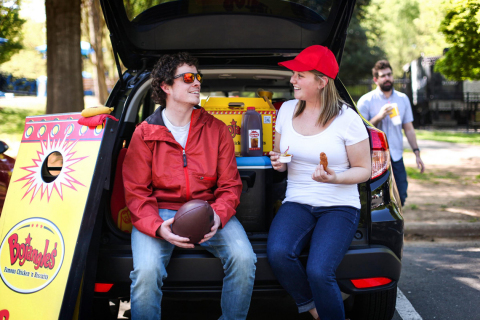 On game day, leave the food to Bojangles' by bringing a Big Bo Box to your next tailgate. (Photo: Bojangles')