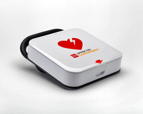 The new Physio-Control LIFEPAK(R) CR2 Defibrillator with LIFELINKcentral(TM) AED Program Manager is  ...