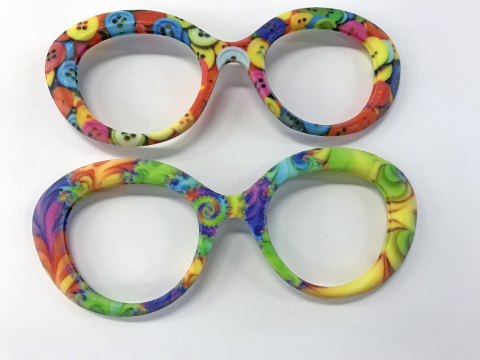 With the ability to easily combine full colors and multiple material properties, Safilo can now quickly test new ideas and present a variety of realistic prototypes to its customers (Photo: Business Wire)