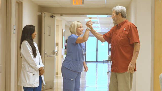 Jimmy Hammonds shares his story of healing through a Healogics Wound Care Center.