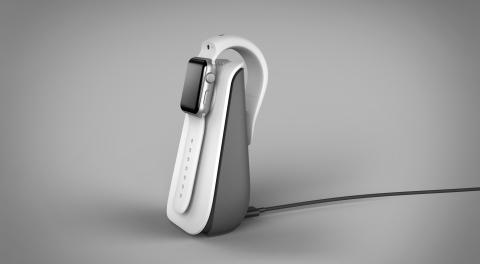 CMRA Charger also charges Apple Watch (Photo: Business Wire)