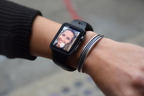 Introducing the first camera for Apple Watch. (Photo: Business Wire)
