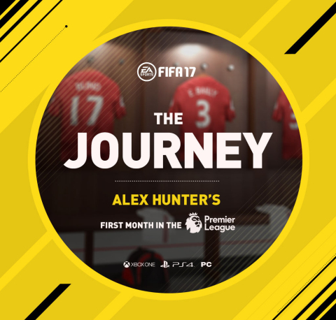 Alex Hunter Impresses With More Than 124 Million Matches Played and 164 Million Goals Scored in the First Month of The Journey in FIFA 17 (Photo: Business Wire)