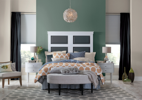 dutch boy paints names in the brush and thunder storm as the 2017 colors of the year. Black Bedroom Furniture Sets. Home Design Ideas