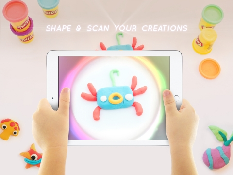 Hasbro, Inc. will debut the PLAY-DOH Touch app and the PLAY-DOH Touch SHAPE TO LIFE STUDIO set exclu ...