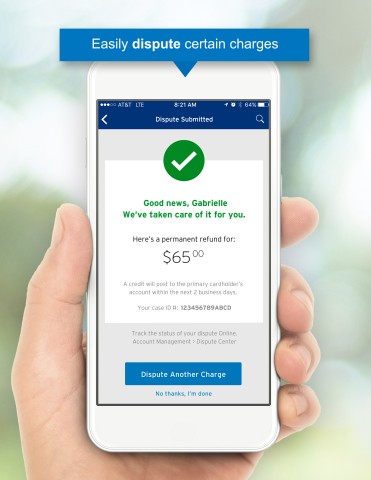 Citi Launches Ability to Dispute a Charge Within Mobile App  (Photo: Business Wire)