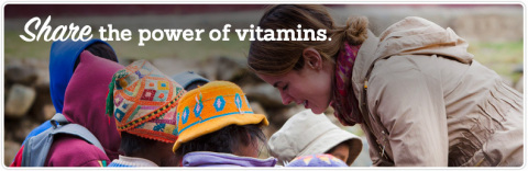 Jessica Mulligan, NeoCell's Global Vice President, in the field with Vitamin Angels in Peru. Photo credit - Matt Dayka (Photo: Business Wire)