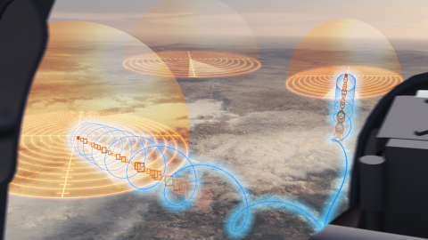 DARPA has awarded BAE Systems a $13.3 million contract to extend its work on the Adaptive Radar Countermeasures project. (Graphic: BAE Systems)