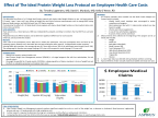Effect of The Ideal Protein Weight Loss Protocol on Employee Health Care Costs (Graphic: Business Wire)