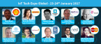 Keynote speakers announced for the leading IoT conference; IoT Tech Expo Global in London, 23-24 January 2017 (Photo: Business Wire)