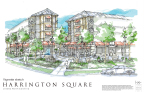 Artist rendering of Harrington Square by H+W Design. Leland, NC (Photo: Business Wire).