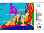 FIGURE 1 - MADRID NORTH NAARTOK ZONE PLAN SECTION AT THE -50 MRSL LEVEL (Graphic: Business Wire)