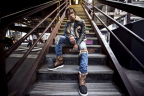 Vic Mensa in the UGG for Men Roskoe (Photo: Business Wire)