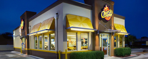 Each of the new Church's Chicken® locations will be modeled after the new STAR Initiative Design package including contemporary dining room décor highlighted by new seating installations, modern color palettes on both the interior and exterior, enhanced architectural elements, sconce lighting indoors and shaded canopies outdoors. (Photo: Church's Chicken)