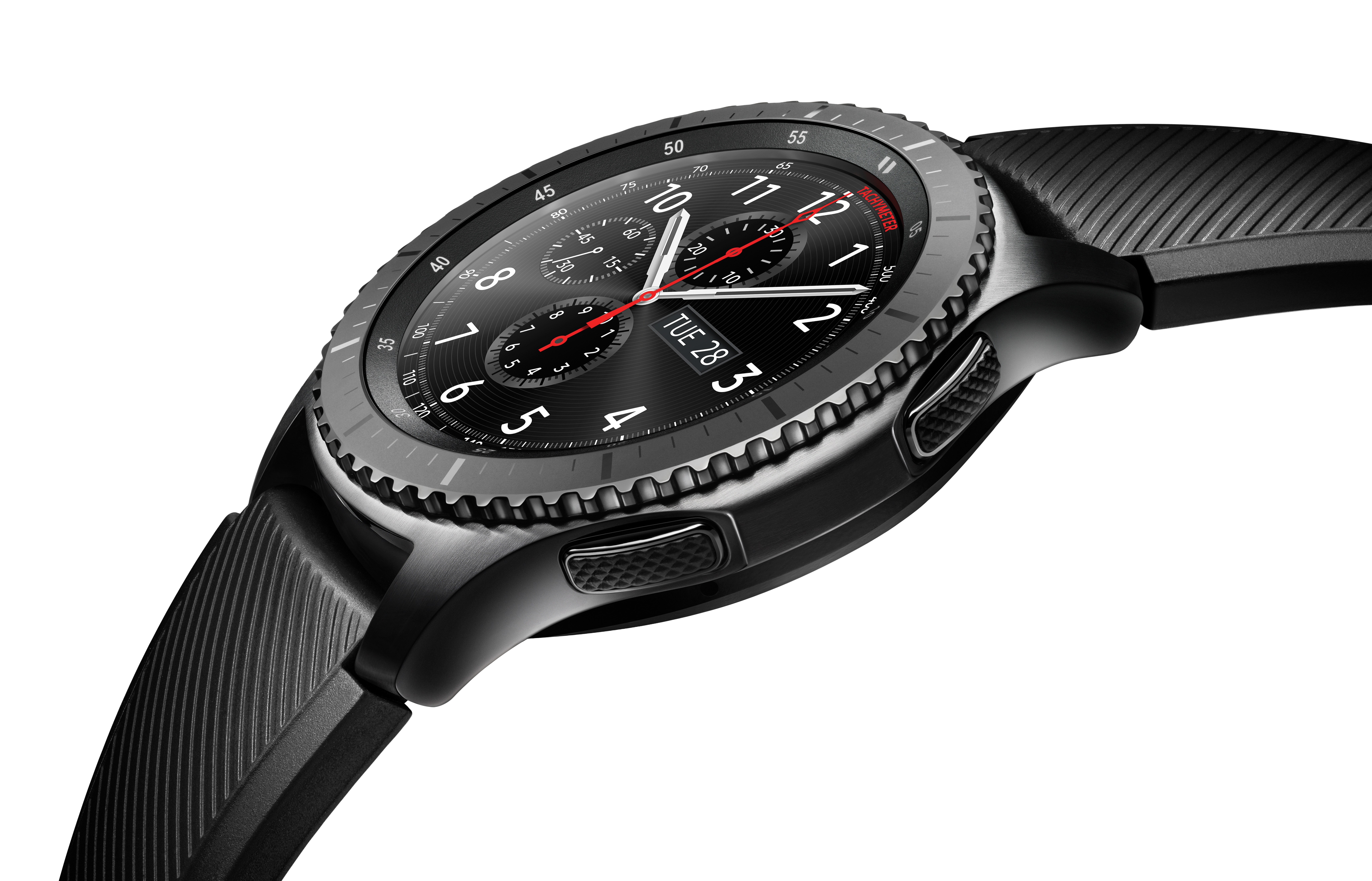 ADDING MULTIMEDIA Samsung Gear S3 Smartwatch Blends ...