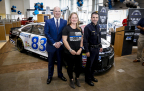 Pictured above: ZAK Founder Vic Keller; Sister of fallen officer Michael Krol, Amie Schoenbaechler; Dallas Police Department Chief David Pughes (Photo: Business Wire)
