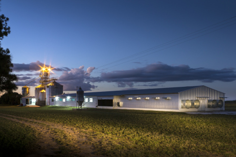 AGCO Future Farm Grain and Poultry Learning Centre, Lusaka, Zambia (Photo: Business Wire)